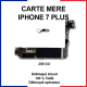 Carte mère pour iphone 7 plus - 256 Go - bouton home or